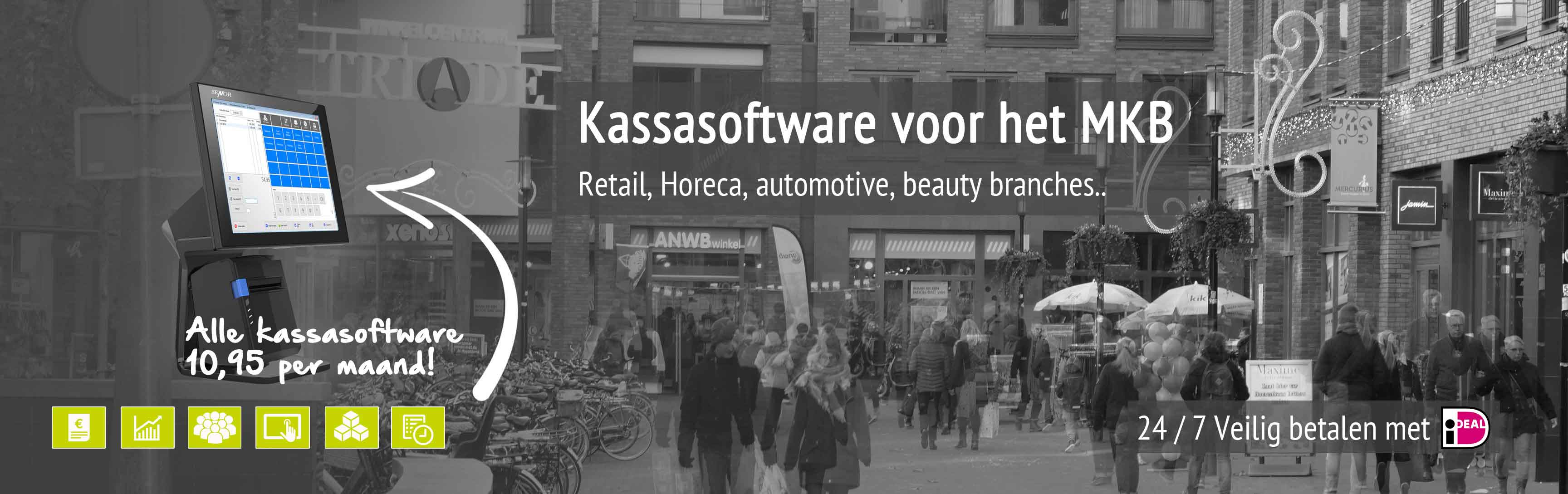 kassasoftware, salon software, garage software & kassasystemen